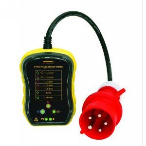 MARTINDALE PC105 3 PHASE INDUSTRIAL SOCKET TESTER 32A