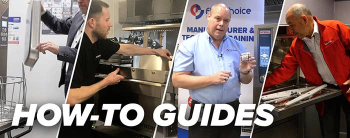 How-To Guides for maintaining commercial catering equipment