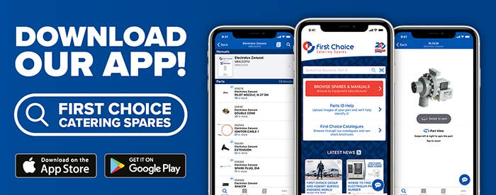 First Choice Catering Spares App