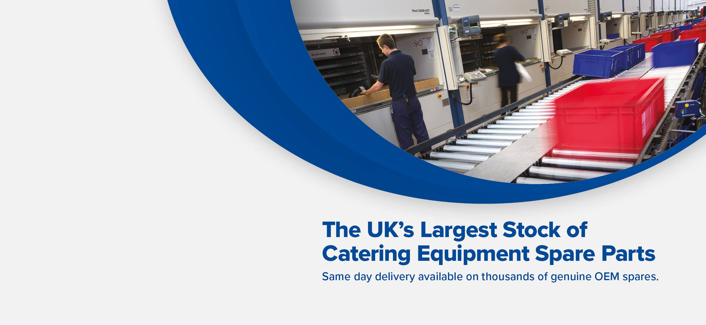 The UK's Largest Stock of OEM Catering Equipment Parts