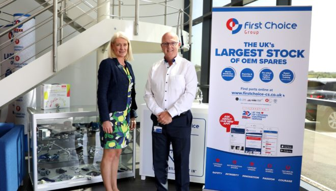 Cannock Chase MP, Amanda Milling, pays visit to First Choice HQ